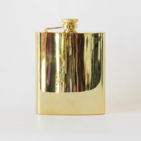 Flask - Gold | Rubies Inc., Chatham, Ontario, CANADA
