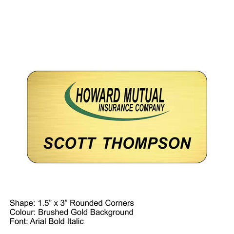 Nametags Fast Turnaround | Rubies Inc., Chatham, ON