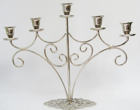 Nickle Plated Candelabra | Rubies Inc., Chatham, Ontario, CA