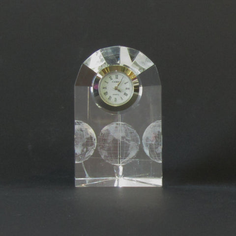 Holographic Globe Clock | Rubies Inc., Chatham Ontario, CANADA