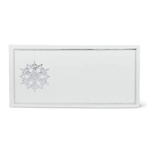 Snowflake Placeholder Cards | Rubies, Chatham, Ontario