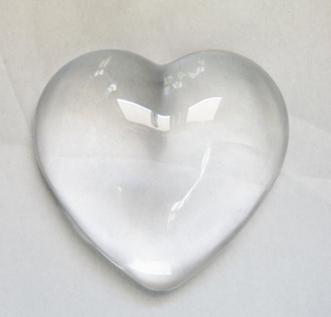 Glass Heart Paper Weight | Rubies Inc., Chatham, Ontario, Canada