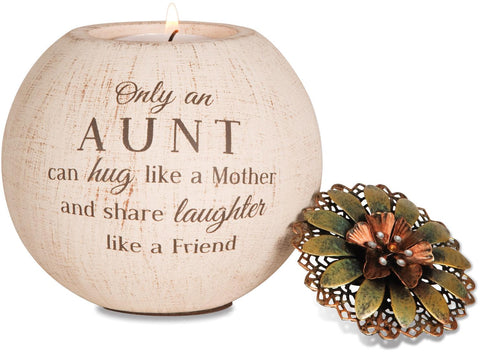 Aunt - Tea Light Candle Holder | Rubies, Chatham, Ontario, Canada