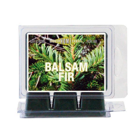 Country Home Candle - Balsam Fir Scent Square | Rubies Inc., Chatham