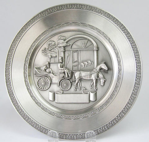 Pewter Plate – Wedding Coach | Rubies Inc., Chatham, Ontario, CA