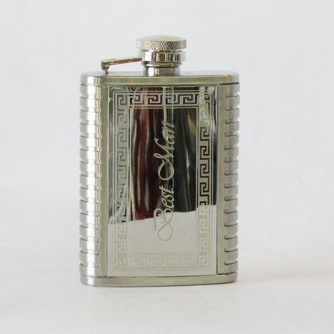 Flask - Best Man | Rubies Inc., Chatham Ontario, CANADA