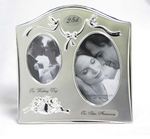25th Anniversary Double Picture Frame | Rubies, Chatham, Ontario