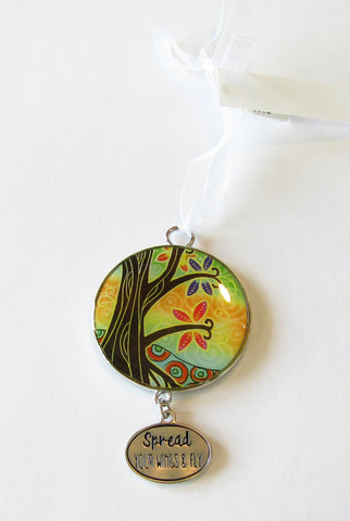 Tree Of Life Ornament - Spread Your Wings And Fly