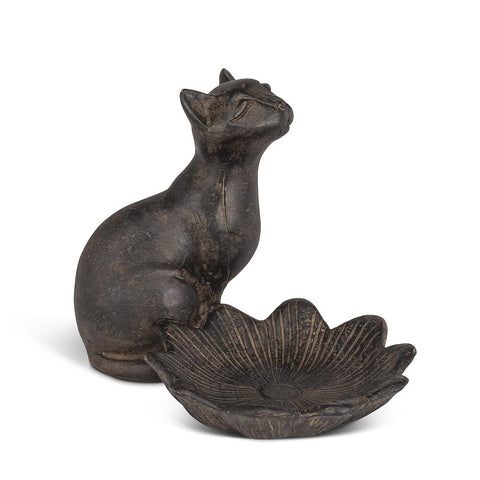Fig Cat and Lotus Dish | Rubies, Chatham, Ontario, Canada