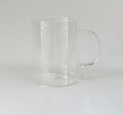Coffee Mug, Thin Glass, Including Personalization | Rubies Inc. Chatham ON Canada
