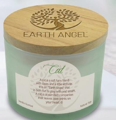 Earth Angel Candle ~ Cat | Rubies Inc., Chatham, Ontario, Canada