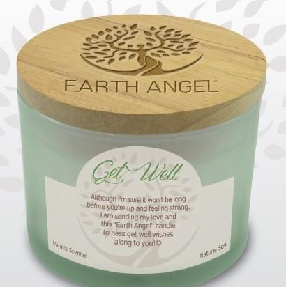 Earth Angel Candle ~ Get Well | Rubies Inc., Chatham, Ontario, Canada
