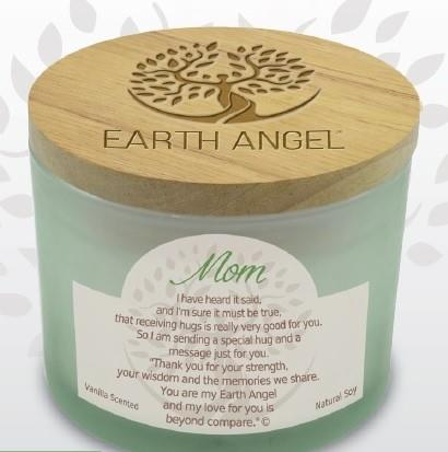 Earth Angel Candle ~ Mom | Rubies Inc., Chatham, Ontario, Canada