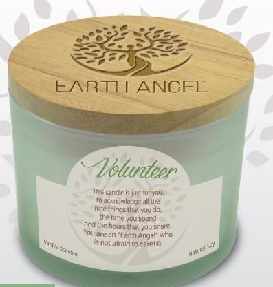 Earth Angel Candle ~ Volunteer | Rubies Inc., Chatham, Ontario, Canada