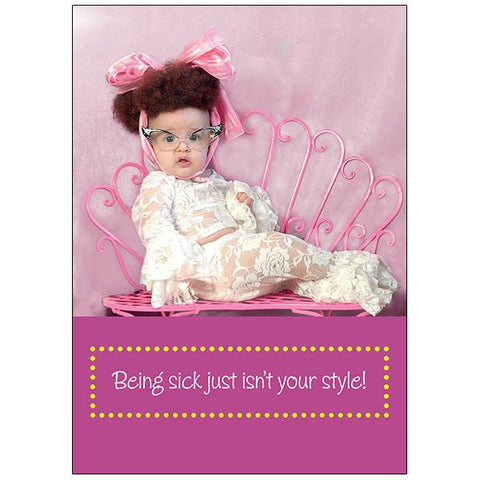 Greeting Card – Get Well