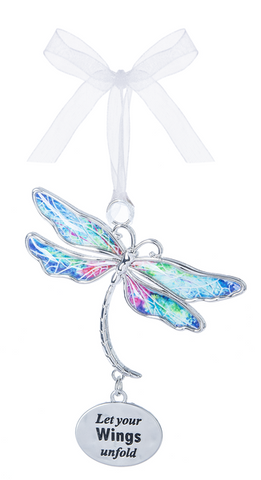 Let Your Wings Unfold Dragonfly Ornament | Rubies, Chatham, Ontario