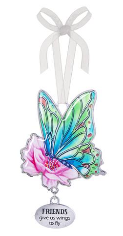Friends Give Us Wings Butterfly Ornament | Rubies, Chatham, Ontario
