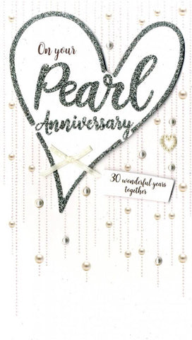 Pearl Anniversary Card | Rubies Inc. Chatham ON Canada