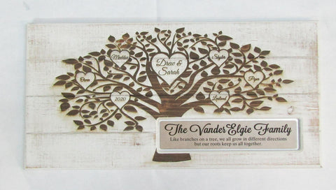 Family Plaque Custom Engraved | Rubies Inc. Chatham ON Canada