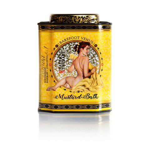 100% Natural Mustard Bath Tin | Rubies Inc. Chatham ON Canada