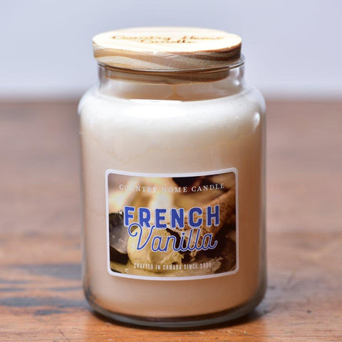 Country Home Candle - French Vanilla | Rubies Inc. Chatham ON Canada