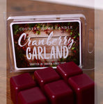 Country Home Candle - Cranberry Garland Scent Square | Rubies Inc. Chatham ON Canada