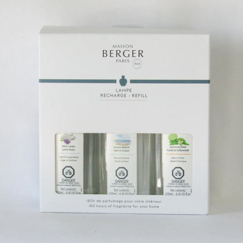 Maison Berger Lamp Fragrance Trio-Pack | Rubies Inc., Chatham Ontario,
