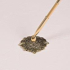 Pen Holder – Filigree Ornate Circle | Rubies Inc., Chatham, Ontario, CA