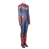 Captain Marvel Carol Danvers Leather Cosplay Costume-2019 Marvel Movie - CosGoGo