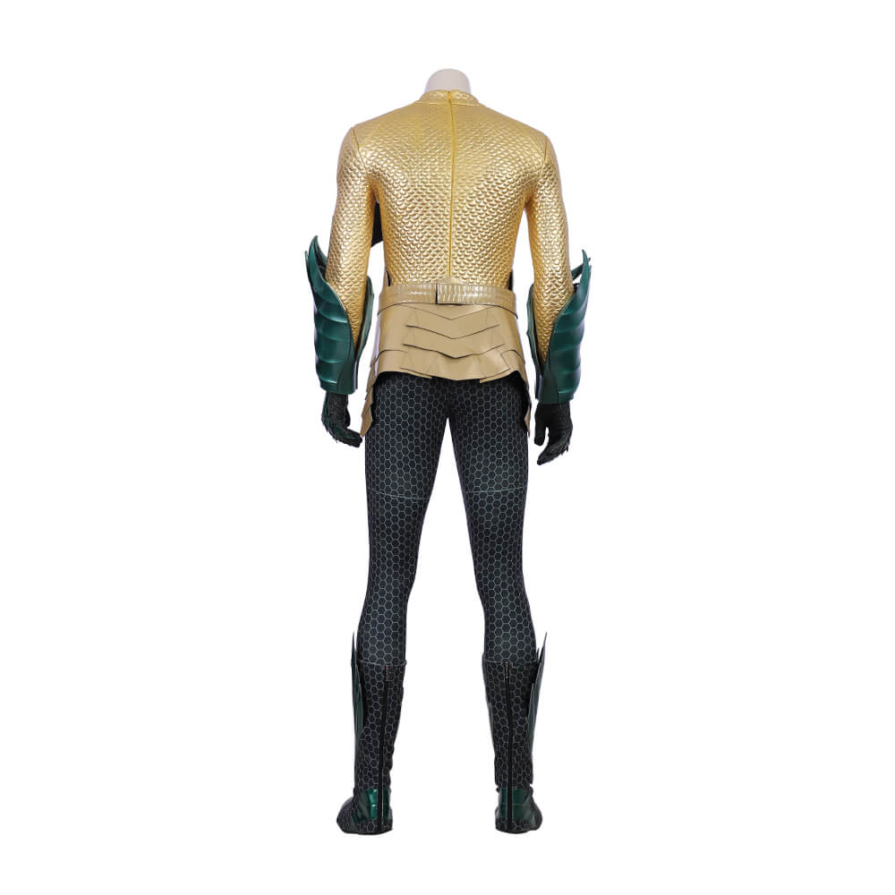 Aquaman Arthur Curry Leather cosplay costume-2019 Justice League Movie - CosGoGo