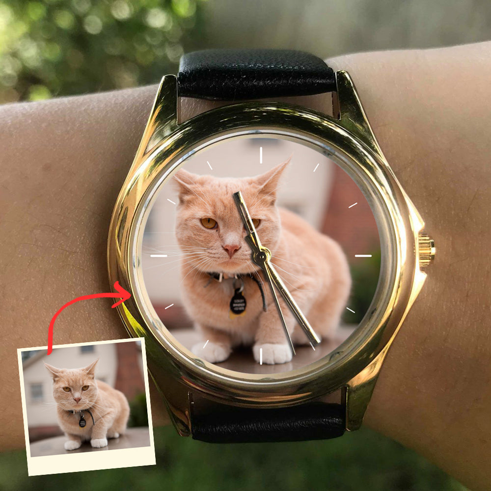 Personalized Family Cat Watch