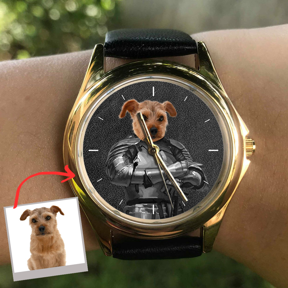 The Knight - Personalized Family Dog Watch