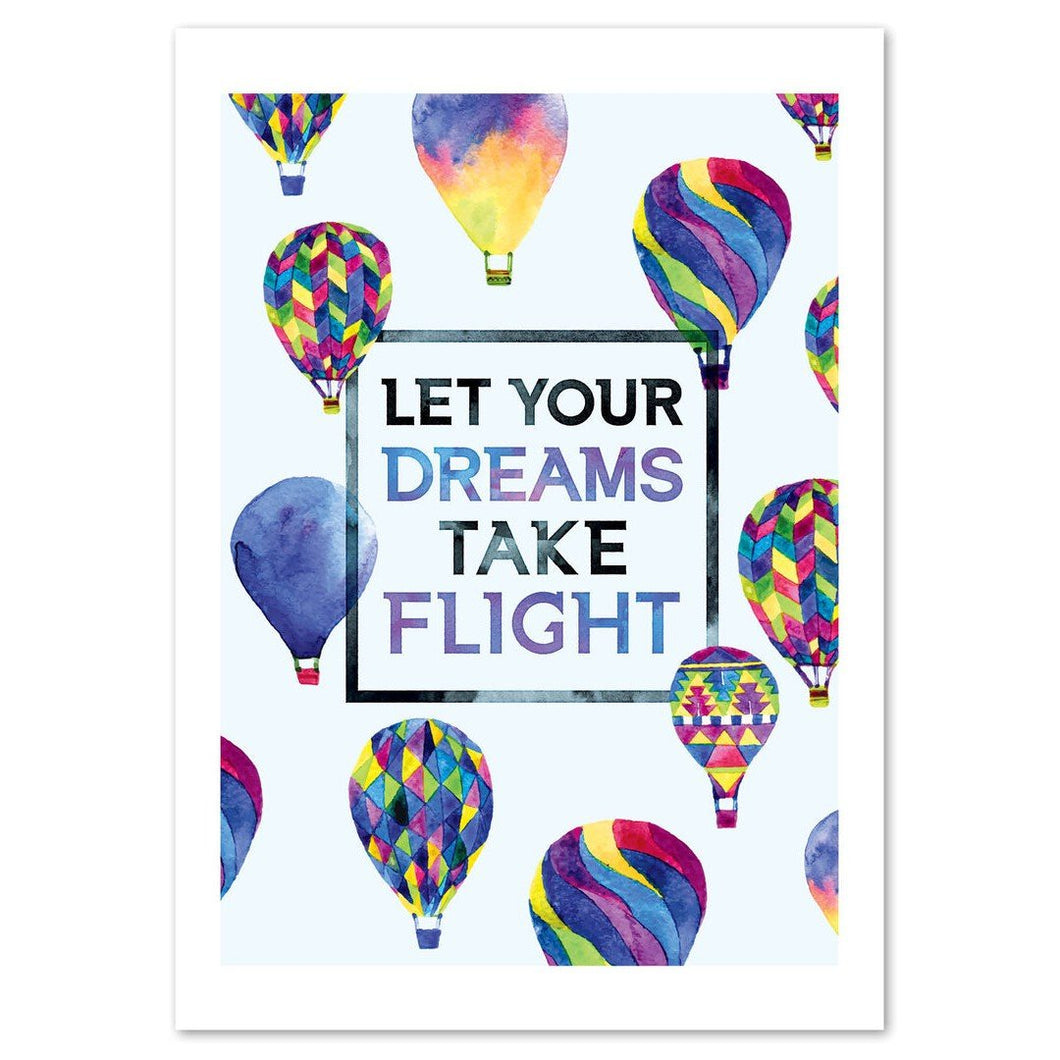 Dreams Taking Flight A3 Print from Ezen