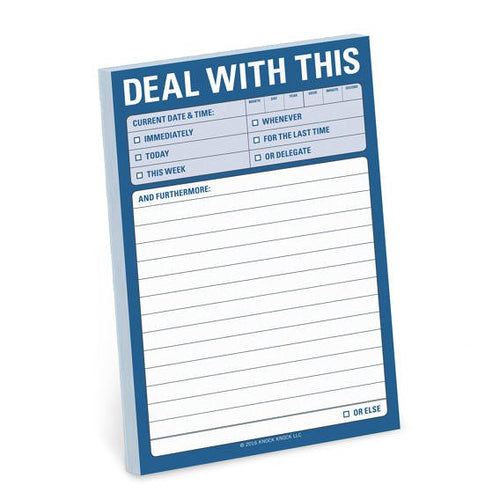 Deal With This Sticky Pad from Abrams & Chronicle