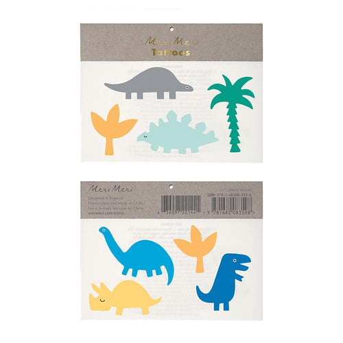 Dinosaur Temporary Tattoos from Meri Meri