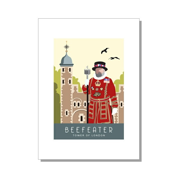 Beefeater Card from The Card Shed