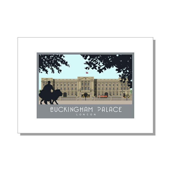 Buckingham Palace Card from The Card Shed