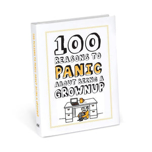 100 Reasons to Panic : Being a Grownup from Abrams & Chronicle
