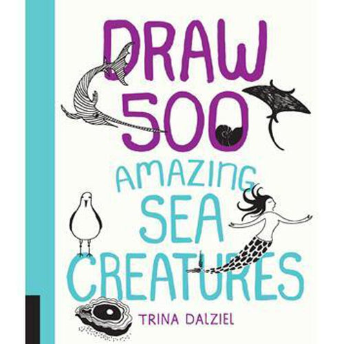 Draw 500 Sea Creatures from Quarto