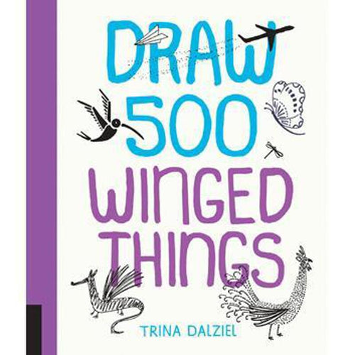 Draw 500 Winged Things from Quarto