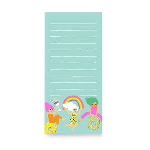 Fun Girls Magnetic Shopping List from Noi