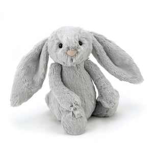 Bashful Silver Bunny from JellyCat