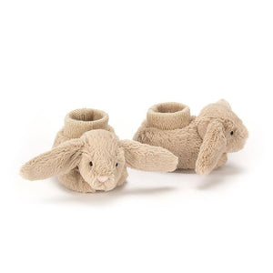 Beige Bunny Booties from JellyCat