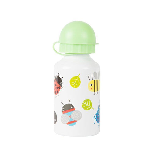 Busy Bugs Kids Water Bottle from Sass & Belle