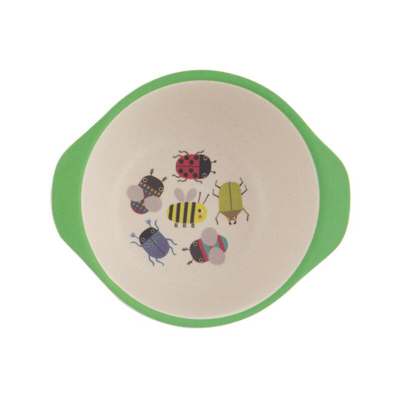 Busy Bugs Kids Bowl from Sass & Belle