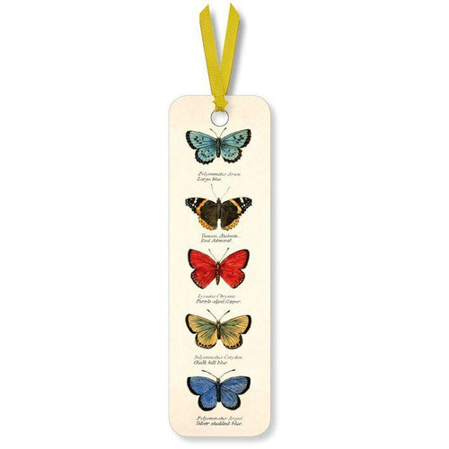 Butterflies Bookmark from Museums & Galleries