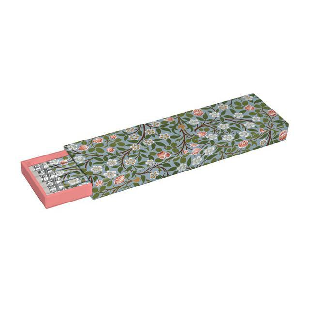Clover Wallpaper Pencil Gift Set from Museums & Galleries