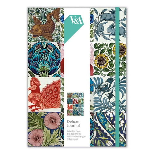 De Morgan Tiles V&A Deluxe Journal from Museums & Galleries