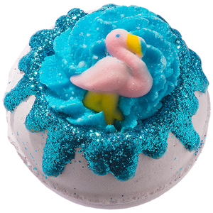 Flock Star Flamingo Bath Blaster from Bomb Cosmetics
