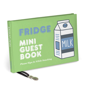 Fridge Mini Guest Book from Abrams & Chronicle